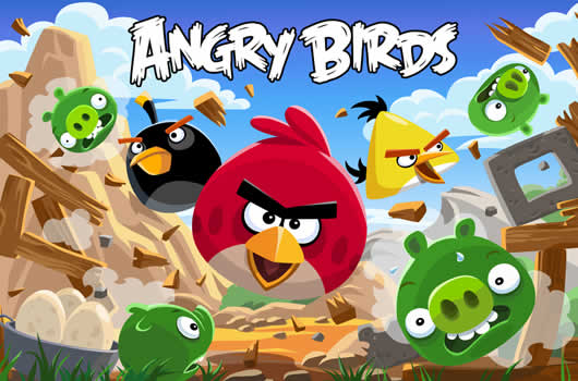Jogue Angry Birds agora!