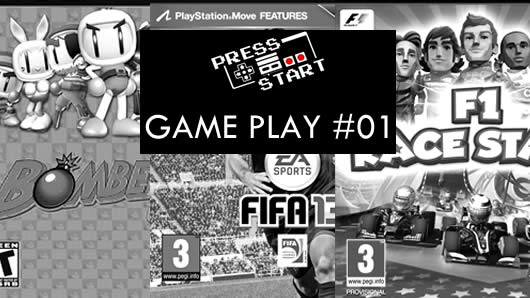 Press Start Gameplay #01: Piloto