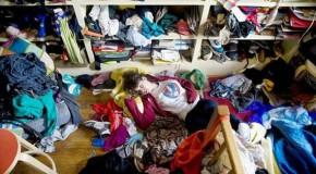 Vai arrumar o seu quarto