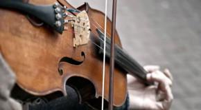 História: O violinista da graça