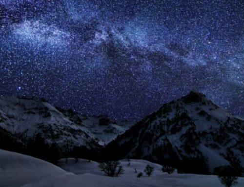 Como estrelas no universo