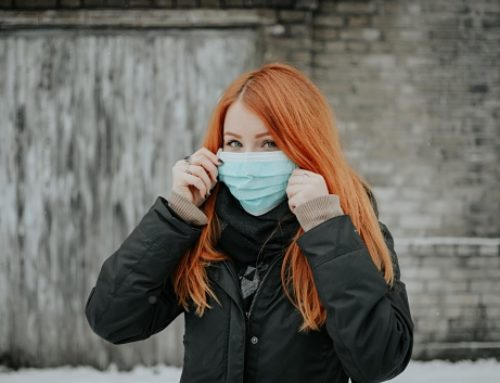 Além da máscara